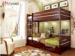 Кровать ДУЕТ (массив) 90*200