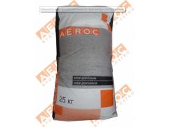 Клей для работы с газобетоном газоблоком зимний мешок 20 кг.