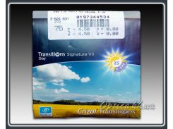 Фотохромные линзы Essilor 1.60 ORMIX Transitions Crizal Forte