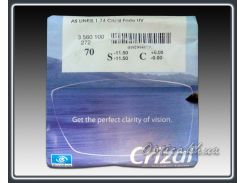 Линзы Essilor 1.74 AS Lineis Crizal Forte UV