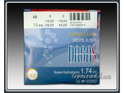 Линзы Dagas 1.74 асферические
