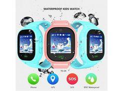 Часы с GPS для детей водонепроницаемые с камерой TD05, DF30