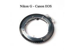 Переходник-адаптер Nikon F(G)-Canon EOS