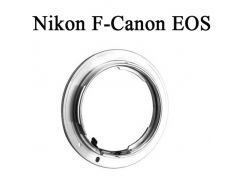 Переходник-адаптер Nikon F-Canon EOS