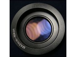 Переходник-адаптер М42-Nikon с линзой