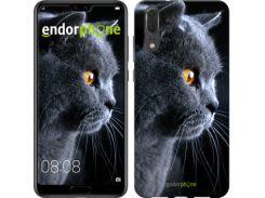 "Чехол на Huawei P20 Красивый кот ""3038c-1396-7673"""