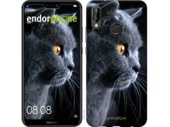 "Чехол на Huawei P20 Lite Красивый кот ""3038c-1410-7673"""