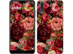 """Чехол на Huawei P20 Цветущие розы """"2701c-1396-7673"""""""