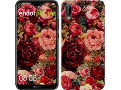 """Чехол на Huawei P20 Lite Цветущие розы """"2701c-1410-7673"""""""