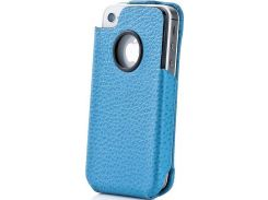 Чехол-флиппер Capdase Capparel Protective Case Royal Blue/Black for iPhone 4/4S (CPIH4-R031)