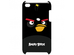 Чехол-накладка Gear4 Angry Birds Protective Case Bomber Black for iPod touch 4G (TCAB404)