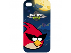 Чехол-накладка Gear4 Angry Birds Protective Case Space Bird Red for iPhone 4/4S (ICAS401G)