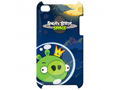 Чехол-накладка Gear4 Angry Birds Protective Case Space King Pig Green for iPod touch 4G (TCAS406G)