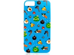 Чехол-накладка Gear4 Angry Birds Protective Case Ensemble for iPhone SE/5/5S (ICAB502G)
