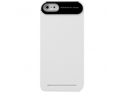 Чехол-накладка Zenus Metal Edge Case White for iPhone SE/5/5S