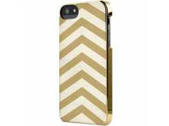 Чехол-накладка Incase Snap Case Chevron Chrome/Gold for iPhone SE/5/5S (CL69156)
