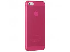 Чехол-накладка Ozaki O!coat 0.3 Jelly Red for iPhone SE/5/5S (OC533RD)