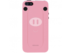 Чехол-накладка Ozaki O!coat Shout Pig for iPhone SE/5/5S (OC540PI)