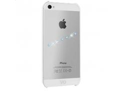 Чехол-накладка White Diamonds Sash Ice Blue for iPhone SE/5/5S (1210SIC44)