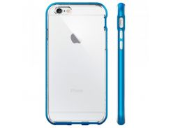 Чехол-накладка Spigen Case Neo Hybrid EX Electric Blue for iPhone 6/6S (SGP11625)