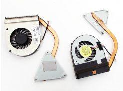 Вентилятор для ноутбука DELL Inspiron N4050 для интегрированной видеокарты с радиатором!