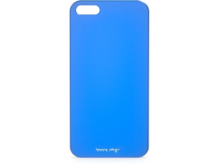 Чехол-накладка Happy Plugs Ultra Thin Case Blue for iPhone SE/5/5S (8803)