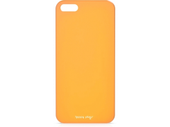 Чехол-накладка Happy Plugs Ultra Thin Case Orange for iPhone SE/5/5S (8808)
