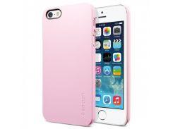 Чехол-накладка SGP Case Ultra Thin Air Series Sherbet Pink for iPhone SE/5/5S (SGP09506)