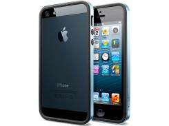 Чехол SGP Case Neo Hybrid EX Metal Series Metal Blue for iPhone 5 (SGP09656)