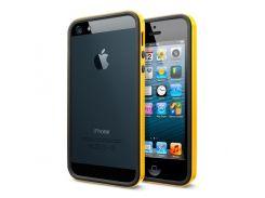 Чехол SGP Case Neo Hybrid EX Vivid Series Reventon Yellow for iPhone 5 (SGP09518)