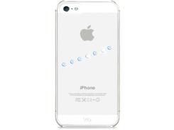 Чехол White Diamonds Sash Ice Blue for iPhone 5 (1210SIC44)