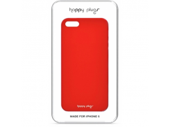 Чехол-накладка Happy Plugs Ultra Thin Case Red for iPhone SE/5/5S (8801)