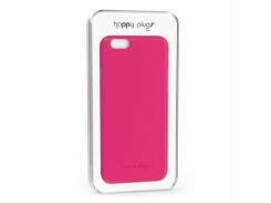 Чехол-накладка Happy Plugs Ultra Thin Case Cerise for iPhone 6/6S (8868)