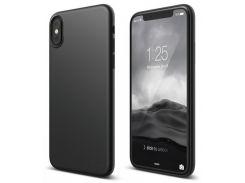 Чехол-накладка Elago Slim Fit 2 Case Matt Black for iPhone X (ES8SM2-SFBK)