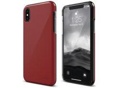 Чехол-накладка Elago Slim Fit 2 Case Red for iPhone X (ES8SM2-RD)