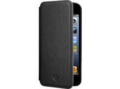 Чехол-книжка Twelvesouth SurfacePad Jet Black for iPhone SE/5/5S (TWS-12-1228)