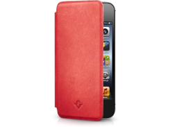 Чехол-книжка Twelvesouth SurfacePad Pop Red for iPhone SE/5/5S (TWS-12-1230)