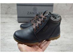 Детские кожаные ботинки   Zangak  126