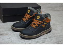 Детские кожаные ботинки   Т 14