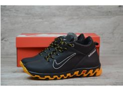 Детские кожаные зимние кроссовки Nike  N 2255