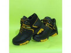 Детские кожаные зимние ботинки Zangak 122 зима