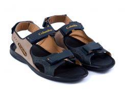 Мужские кожаные сандалии Columbia 070 c/ол