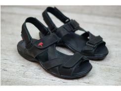 Мужские кожаные сандалии  Ec-1.
