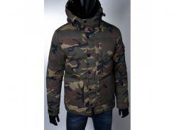 Куртка мужская зимняя на меху GS 154023 камуфляжная