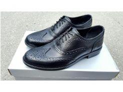 Мужские кожаные туфли Senator black