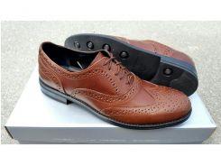 Мужские кожаные туфли Senator brown