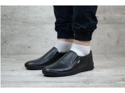 Мужские кожаные туфли Egoist  Р1-V чер.