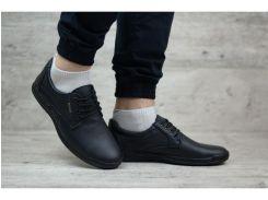 Мужские кожаные туфли Egoist  К1-V чер.
