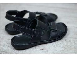 Мужские кожаные сандалии 320 чер
