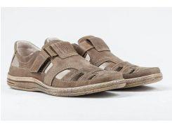 Мужские кожаные летние туфли, 030 ол